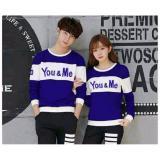Harga Legionshop Sweater Pasangan Sweater Couple You Me Benhur White Original