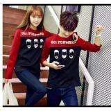 Review Toko Legionshop Sweater Pasangan Sweater Couple Go Forward Red