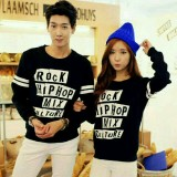 Beli Legionshop Sweater Pasangan Sweater Couple Hip Hop Black Cicilan