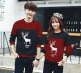 Top 10 Legionshop Baju Pasangan Sweater Pasangan Sweater Couple Atasan Murah Pakaian Couple Terbaru Baju Kembar Baju Couple Sweater Kembar Moose Rusa Pria Dan Wanita Online