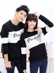 Spek Legionshop Sweater Pasangan Sweater Couple Pusple White Black