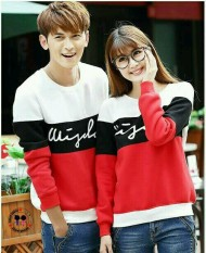 Spesifikasi Legionshop Sweater Pasangan Sweater Couple Wisdom Red Dan Harga