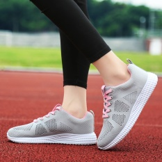 Penawaran Istimewa Leisure Sports Shoes Ladies Fashion Lace Up Intl Terbaru