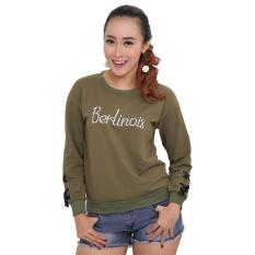 Review Lemone Tumblr Tee Kaos Cewe Premium Sweater Wanita Berlinois Army