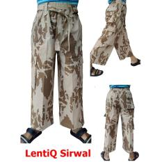 Beli Lentiq Sirwal Pangsi Celana Cingkrang Cargo Dilengkapi Tali Di Pinggang Murah Berkualitas Online