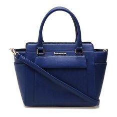 Beli Les Catino Faldes Satchel Bag Blue Print Murah Di Indonesia