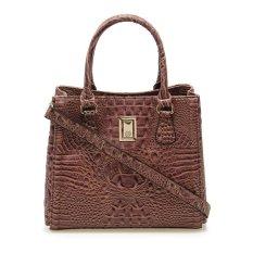 Beli Les Catino Fraser Croco Bag Croco Tan Les Catino Online