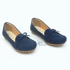 Spesifikasi Les Flatshoes Vasco Pita By01 Navy Blue Bagus