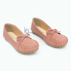 Diskon Les Flatshoes Vasco Pita By01 Pink Salem