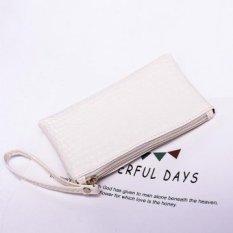 LetDo LetDo Guangzhou Manufacturers Wholesale Handbags Vendor Supply Ms. Hand Bag Korean Mobile Phone Wallet Gift Package (White) - intl