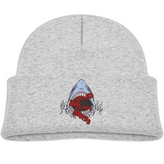 Leung FAMILY-A Musim Gugur Musim Dingin Hangat Topi Topi untuk Dewasa Anak-anak Lucu Sharks Pelukan dengan Mulut Mereka Balita Perempuan Anak Laki-laki musim Dingin Hats Lucu-Internasional