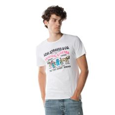 Situs Review Levi S 2 Horse Graphic Tee Better Ssnl 2H White