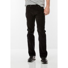 Harga Levi S 505 Regular Fit Non Denim Corduroy Black Levi S Terbaik