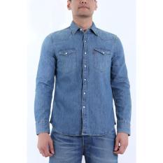 Beli Levi S Barstow Western Shirt Stonewash Denim Di Jawa Barat