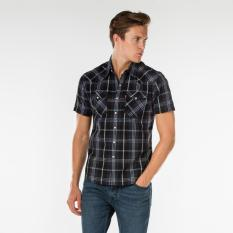 Harga Levi S Classic Western Shirt Shekere Dres Blues Branded