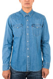 Harga Levi S Classic Western Shirt Stonewash Denim Levi S Online
