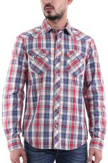 Review Levi S Sawtooth Western Shirt Taupe Plaid Di Indonesia