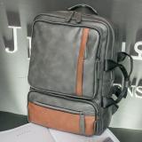 Jual Leyi Topi Baseball Kap Pria Inggris Amfibi Backpack Fashion Dan Kepribadian Brown Intl