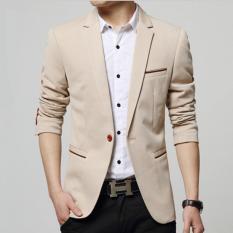 Katalog Leyi Pria Korea Pemuda Kecil Suit Lambang Mengolah Seseorang Moralitas Khaki Intl Terbaru