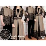 Spesifikasi Lf Batik Couple Kemeja Muslim Gaun Dress Hijab Muslim Gamis Syari Syar I Pasangan Adapr Ss Mocca D2C Dan Harga