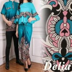 Beli Lf Kemeja Pria Traditional Couple Gamis Muslim Kebaya Dress Wanita Batik Pasangan Set Muslim Liade Ak Tosca Nyicil