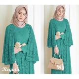 Jual Lf Maxi Dress Lengan Panjang Regin Gamis Gaun Pesta Muslimah Baju Muslim Wanita Baju Pesta Ginare Ss Tosca Di Dki Jakarta