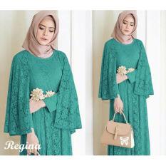 Harga Lf Maxi Dress Lengan Panjang Regin Gamis Gaun Pesta Muslimah Baju Muslim Wanita Baju Pesta Ginare Ss Tosca Di Dki Jakarta