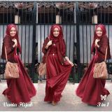 Harga Lf Setelan 3 In 1 Vani Baju Jaket Pasminah Hem Cewek Baju Muslim Baju Set Wanita Baju Rubiah Import Wne Niava Ss Maroon Fullset Murah