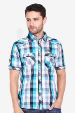 LGS  Men Clothing Shirts Casual Shirts  Pria Pakaian Kemeja Kasual Shirts Multicolor Kombinasi Diskon discount murah bazaar baju celana fashion brand branded