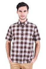 Harga Lgs Shirt Pria Lesh 280 W11K 783 7C Cokelat Kotak Kotak Termahal