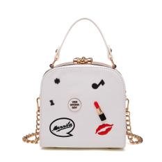 Review Terbaik Persegi Kecil Korea Fashion Style Perempuan Baru Tas Tangan Tas Putih Versi Upgrade Dari Koleksi Untuk Mengirim Cermin Kecil Sachet