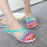Iklan Baru Kristal Jelly Sepatu Berlubang Sandal Pantai Merah Muda