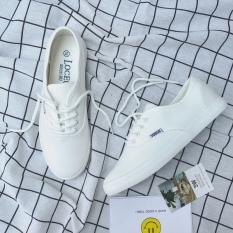 Jual Sepatu Kanvas Korea Fashion Style Perempuan Sepatu Bola Musim Semi Liar Putih Online