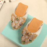 Beli Wild Female Scoop Shoes New Style Shoes Perak Sepatu Wanita Flat Shoes Lengkap