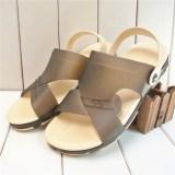 Harga Wild Soft Bottom Men S Jelly Shoes Summer Men Sandals Abu Abu Yg Bagus