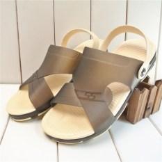 Harga Wild Soft Bottom Men S Jelly Shoes Summer Men Sandals Abu Abu Other Online
