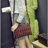 Diskon Lidwina Bags Tas Wanita Mini Selempang Coklat Murah Bag Import