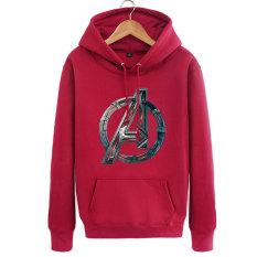 Liga Jaket untuk Pria atau Wanita Some Sweater Sweater (Merah Anggur)