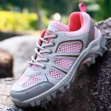 Review Lightweight Low Cut Outdoor Hiking Sepatu Pink Tiongkok