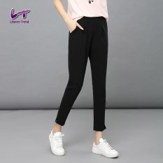 Beli Likener Trend Pergelangan Kesemek Kasual Panjang Lutut Celana Ukuran Better Celana Harem Hitam Pakai Kartu Kredit