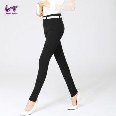 Harga Likener Trend Panjang Ukuran Penuh Ukuran Perempuan Lebih Pensil Celana Hitam