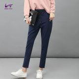 Diskon Likener Trend Halus Harem Pant Tinggi Elastis Ankle Length Pant Biru Navy Intl Intl Likener Trend Tiongkok