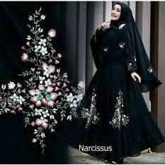 Liliana Baju Gamis Bunga Terbaru Wanita