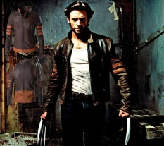 LIMENG 2017 Baru Kedatangan Pria Superhero Setelan Jaket X-men Wolverine Logan Kulit Jaket Mantel Motor Logan Bomber Jaket Casual Musim Dingin Musim Gugur Musim Gugur Berkerah Berdiri untuk Pria Maxi Plus Ukuran M ~ 5XL Mantel Jaket-Intl