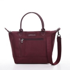 LIMITED EDITION !!! Tas Longchamp Le Pliage Neo Pocket Zipper (MAROON)