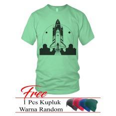Limosin-astronaut-Kaos distro-Kaos Keren-Tshirt pria-Kaos Pria- Kaos DTG