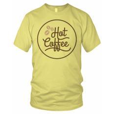 limosin-kaos distro-kaos dtg Hot Coffee - Kuning