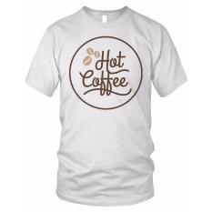 limosin-kaos distro-kaos dtg Hot Coffee - putih