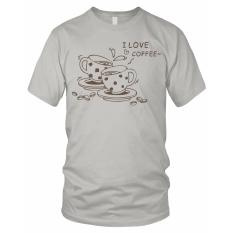 Limosin-kaos distro-kaos dtg I Love Coffee - Abu Muda