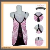 Jual Beli Lingerie Pink Renda Satin Hrs 02 Fashion Baju Tidur S*xy Wanita Silk Satin Pink Di Dki Jakarta